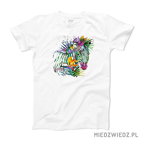 koszulka -KOLOROWA ZEBRA