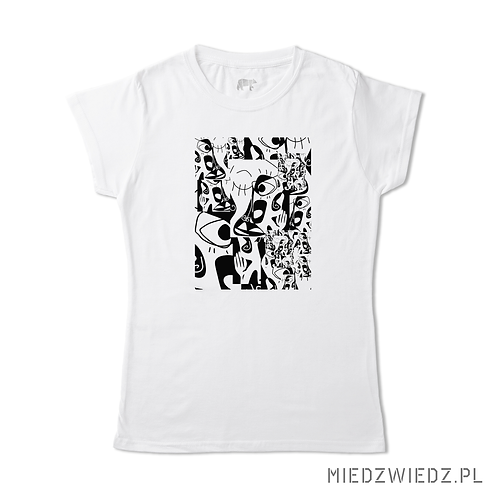 Koszulka - SŁUCHAM - Anna Gelczuk