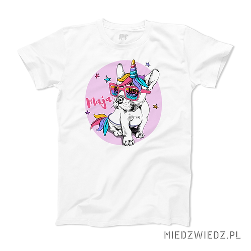 koszulka - SZALONY BULDOG