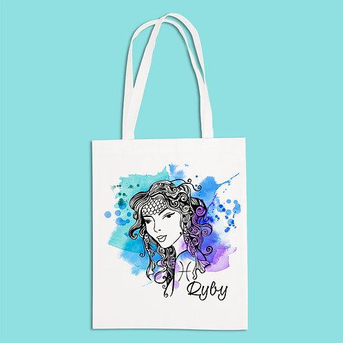 torba ekologiczna - RYBY - seria akwarela
