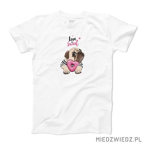 koszulka - PIES - LOVE IS SWEET