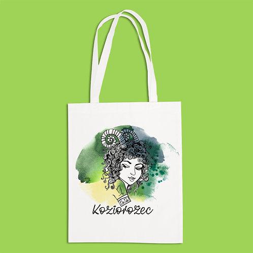 torba ekologiczna - KOZIOROŻEC - seria akwarela