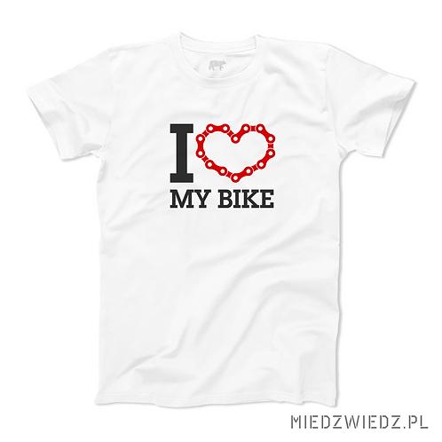 koszulka - I LOVE MY BIKE