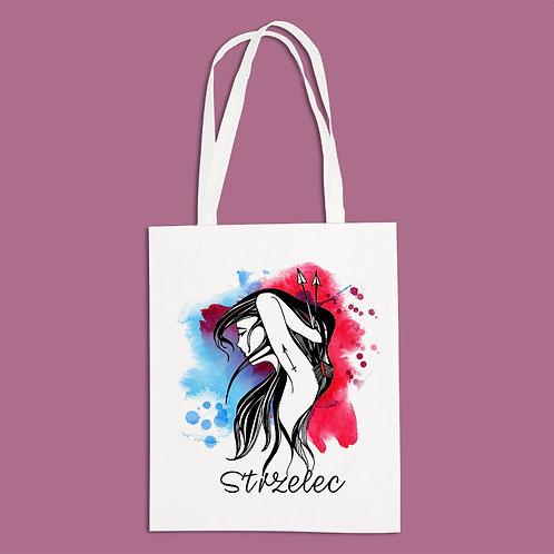 torba ekologiczna - STRZELEC - seria akwarela