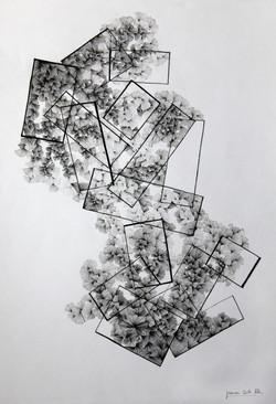 A3 encre noire papier blanc
