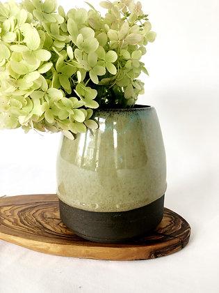 Dark Hydrangea Vase
