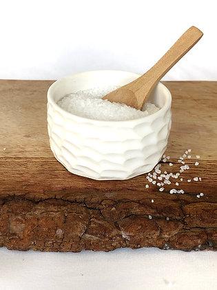 Salt Keeper w/ Wood Spoon #10