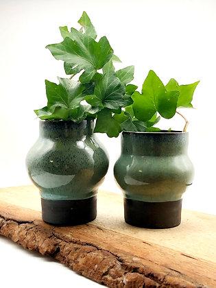Seafoam Bubble Vase Set
