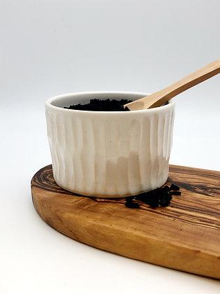 Salt Keeper w/ Wood Spoon #13