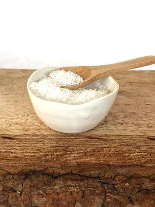 Salt Keeper w/ Wood Spoon #1