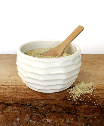 Salt Keeper w/ Wood Spoon #15