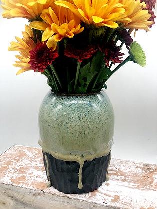 Dark Drippy Vase