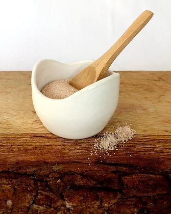 Salt Keeper w/ Wood Spoon #2