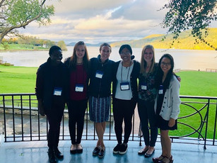 Kristel and Cybelle went to NYIC in Cooperstown with other lady immunologist from Cornell!