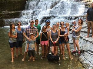 Rudd and Tait Wojno labs have their annual end of summer celebration!
