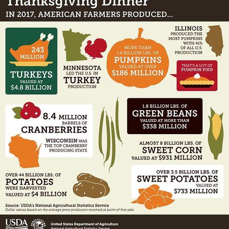 Thankful for those who Feed the Nation this Holiday Season