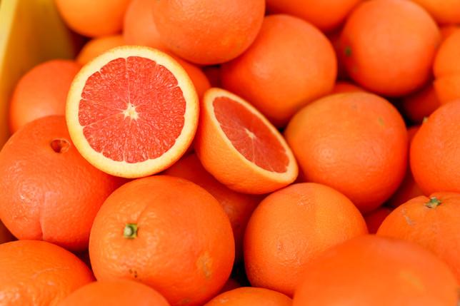 Cara Cara orange display
