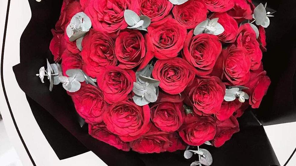 VDAY'18 || Five dozen of roses