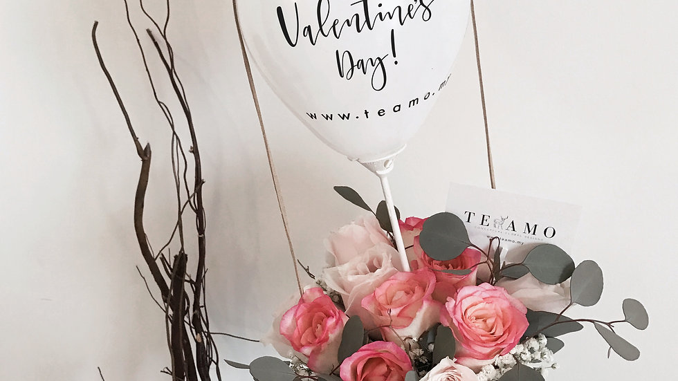 VDAY'18 || Mini Balloon Rose Box