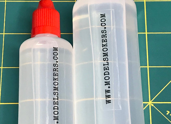 OEM Taigen and Heng Long Smoker Fluid in an Upgraded Bottle