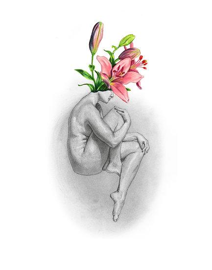 Lady Bloom 1 - prints