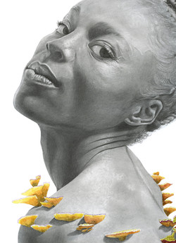 From Adversity, She Grows (detail)