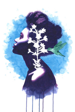 Blooming Standing Cypress