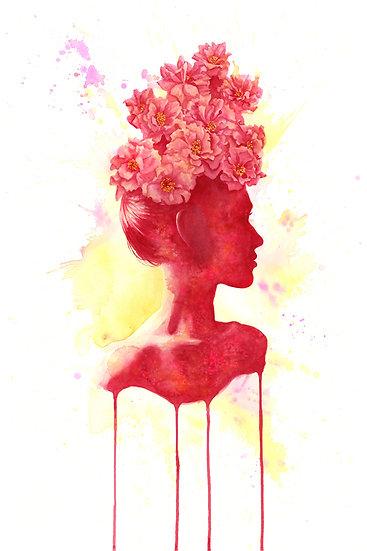 Blooming Grandiflora print