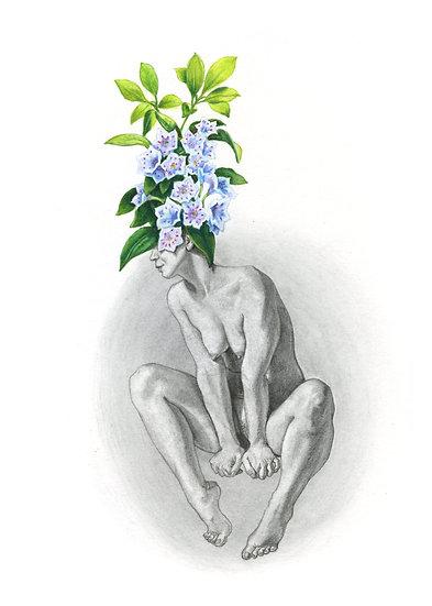 Lady Bloom 3 - original