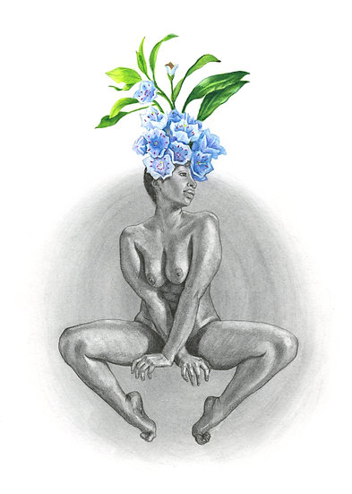Lady Bloom 4 - original
