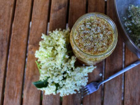 Elderflower vinegar.