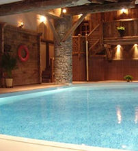 Sainte Foy Ski Holiday spa spas Relaxing Winter Holiday France French Alps