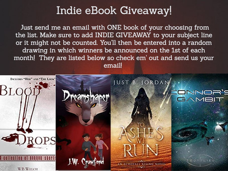 April Indie Book Giveaway!