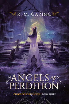 FANTASY BOOK ANGELS OF PERDITION