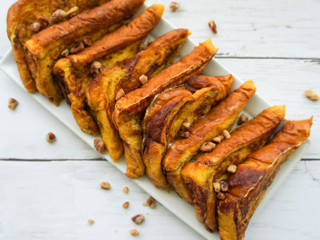 Super Simple Pumpkin French Toast!
