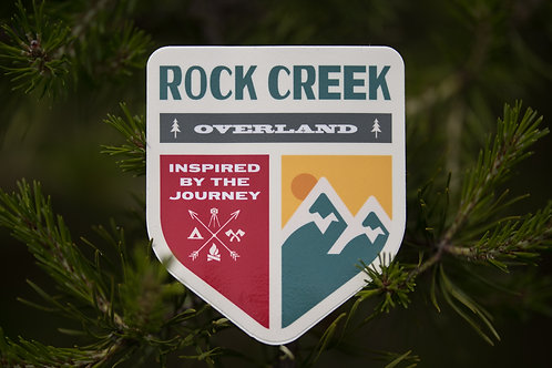 RCO Shield Decal