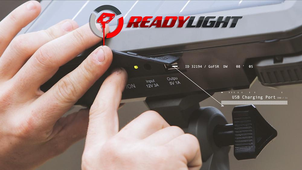 ReadyLight usb charging port