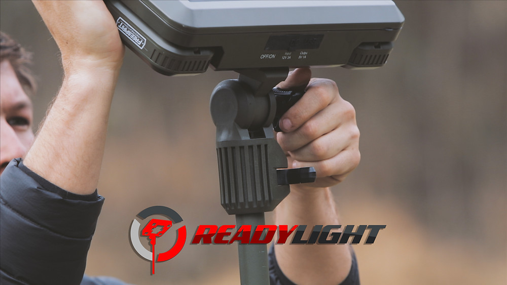 ReadyLight solar charging