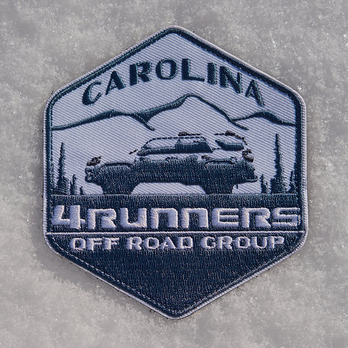 Carolina 4Runners Offroad Group Patch