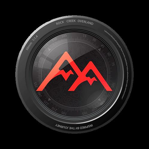 """4"""" Die-Cut Vinyl """"Lens Logo"""" Decal"""