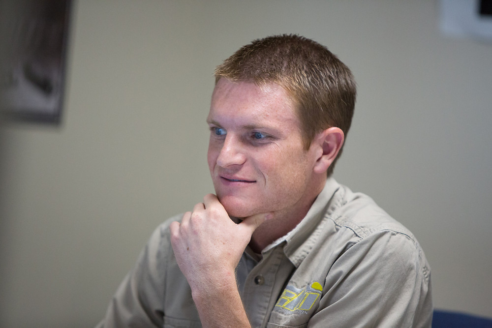 Nathan Wright, owner of CBI Offroad Fabrication
