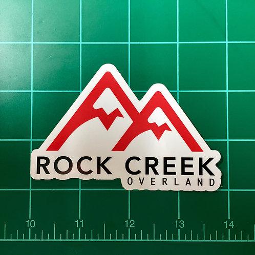 "Die-Cut Vinyl ""Mountain Logo"" Decal"