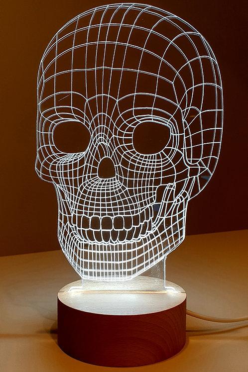 Skull LED Luucht