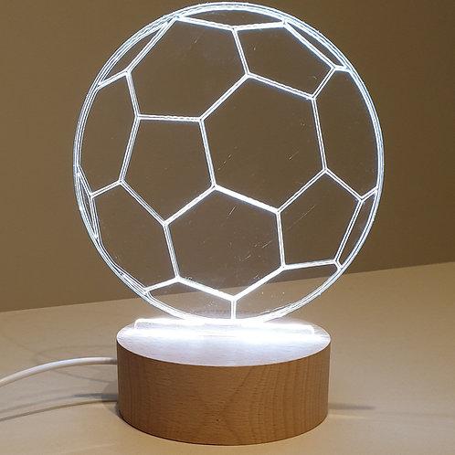 Fussball LED Luucht