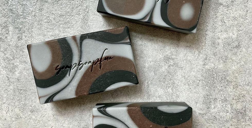 橄欖甜杏修護皂(啡灰渲染) - 105g,120g,125g