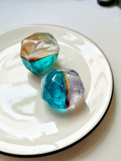 水晶晶透明皂、寶石皂