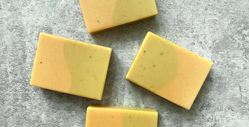 金盞花乳木果羊奶皂-70g,75g,85g