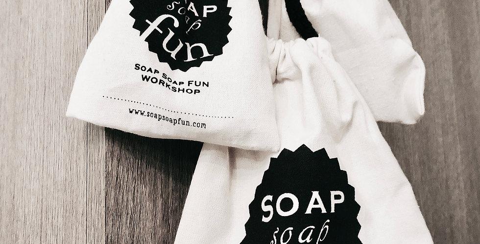 """Soap fun """"Logo"""" Canvas Bag"""