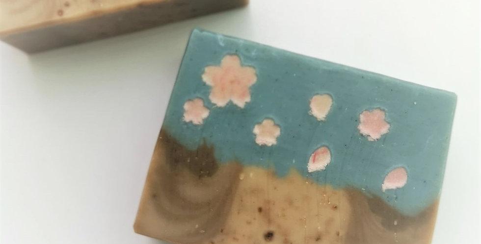 蠶絲蛋白美肌皂(櫻花) - 110g,120g