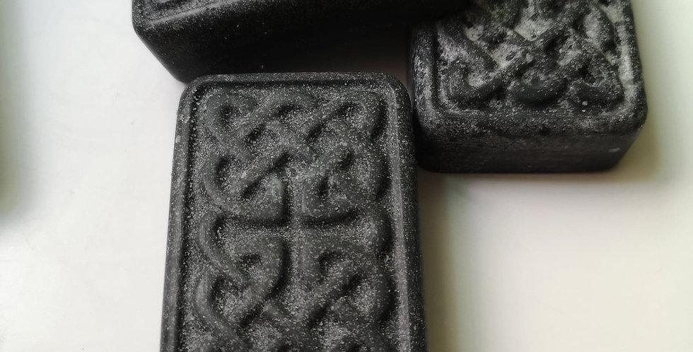 喜瑪拉雅岩鹽皂 (溫泉黑鹽) - 150g